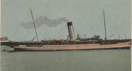 Nava mixta de pasageri si posta REGELE CAROL I in portul Constanta